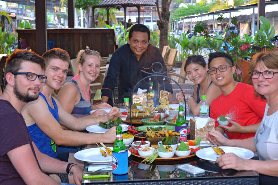 Seminyak Balinese Cooking Class - Dinner Menu
