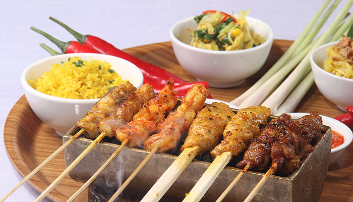 CHICKEN SATE / Sate Ayam